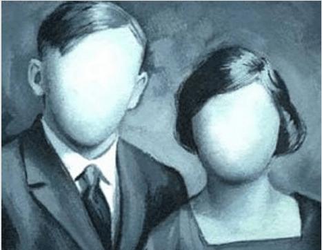 Ansiktslöst par