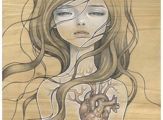 Blottat hjärta