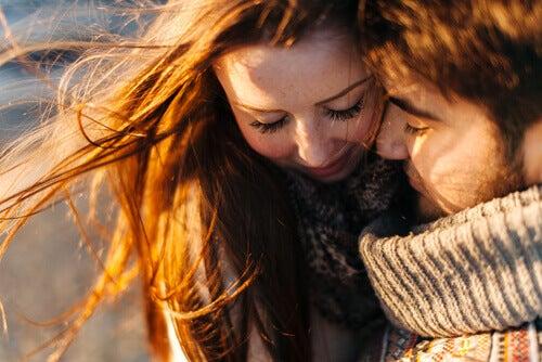 """Kraften hos att säga """"jag älskar dig"""""""