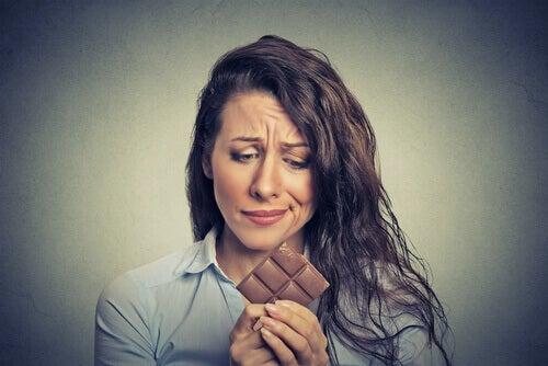 Tröstäta choklad
