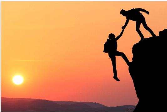 Två klättrare