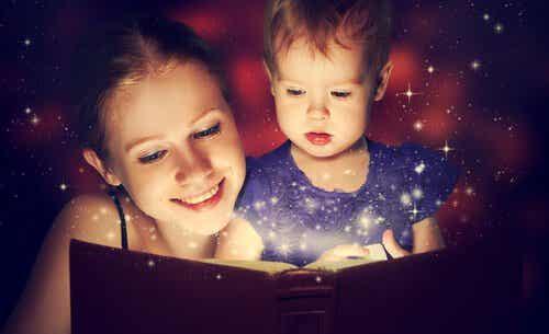 Fördelarna med att läsa sagor för barn