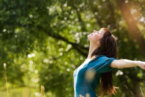 Att ansluta till naturen gör dig gladare
