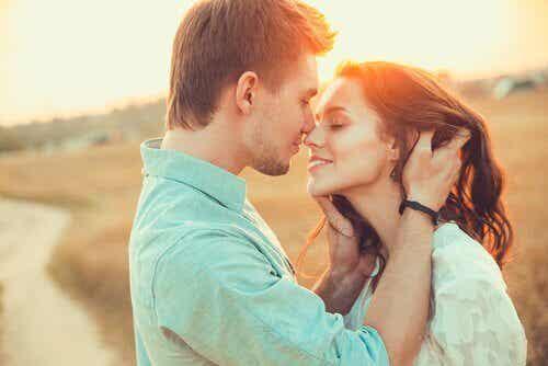 Att älska är också att skratta tillsammans