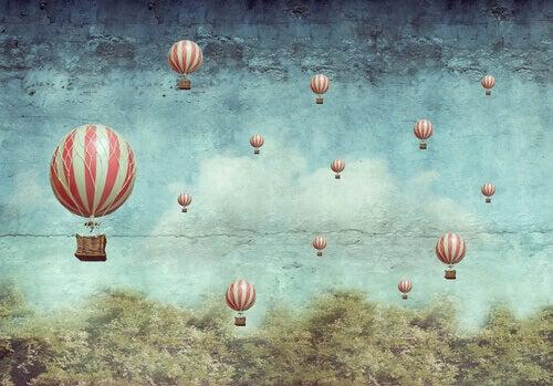 Ballonger i luften