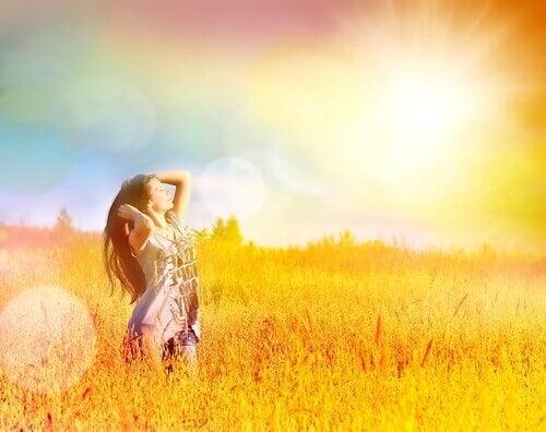 Frihet ligger i ditt sinne och dina känslor