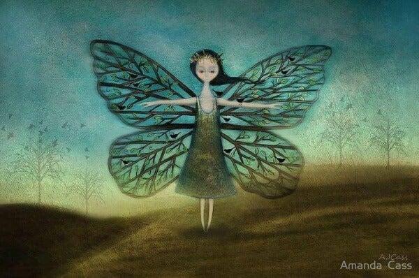 Fjärilsflicka