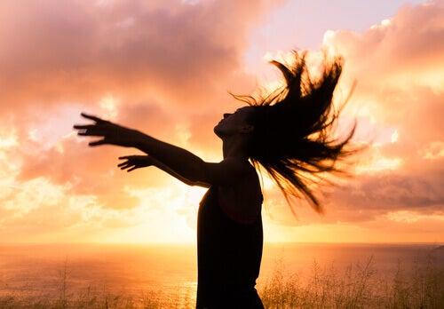 Frihet vid solnedgång