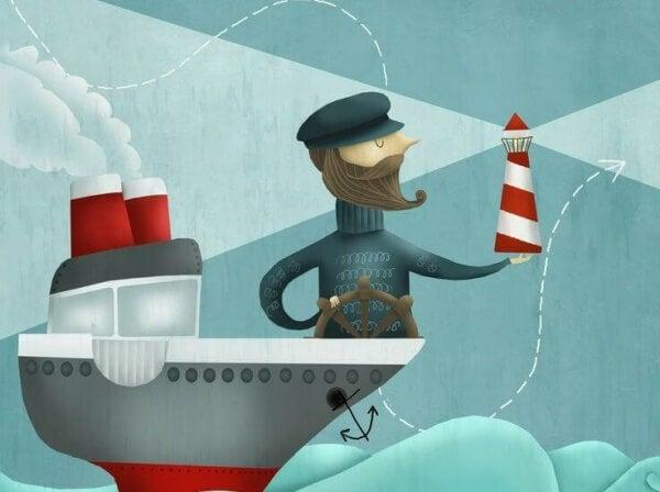 Kapten på båt
