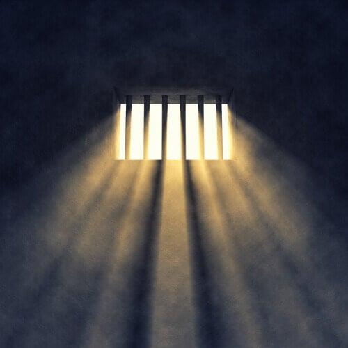 Ljus genom galler