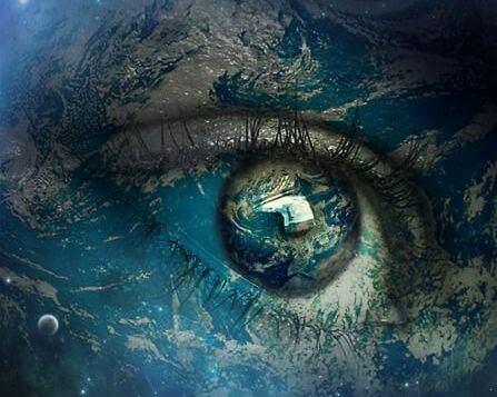 Öga på Jorden