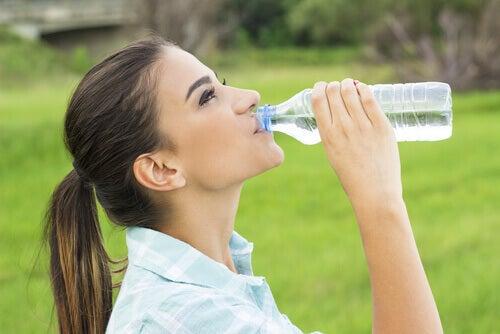 Att dricka vatten så att hjärnan kan prestera på topp