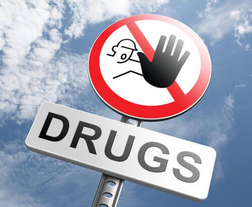 Droger förbjudna