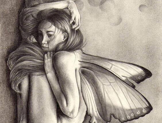 Fjärilskvinna