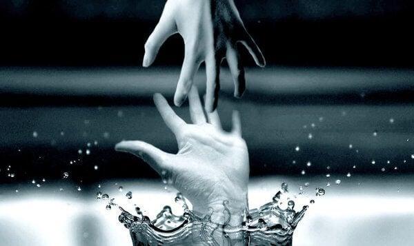 Greppande händer
