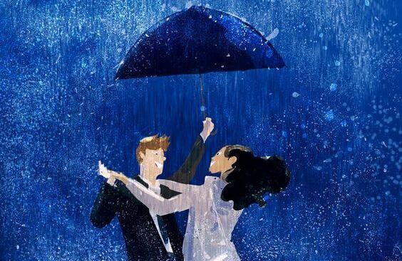 Par under paraply