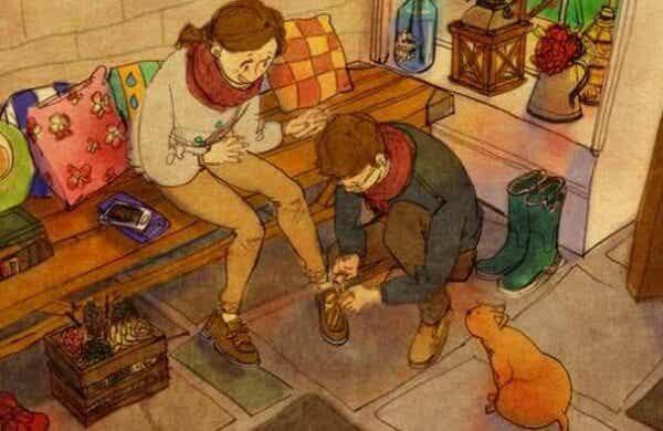Att behandla någon med affektion är att beröra dennes själ med respekt