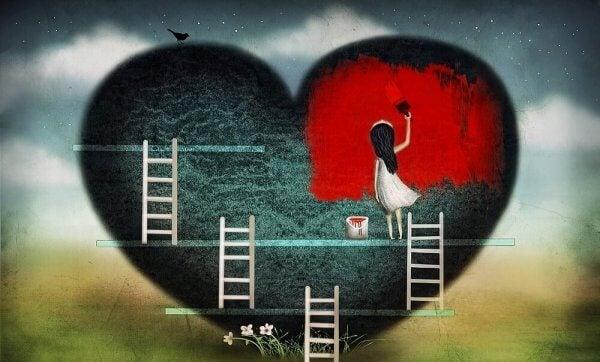 Nedbrutet eller inte, Ditt hjärta är ditt hjärta