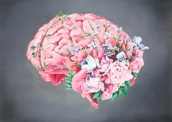 Blommor på hjärna