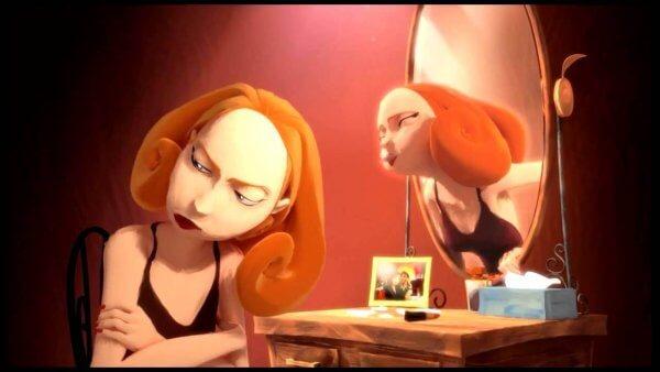 Ignorerar spegelbild