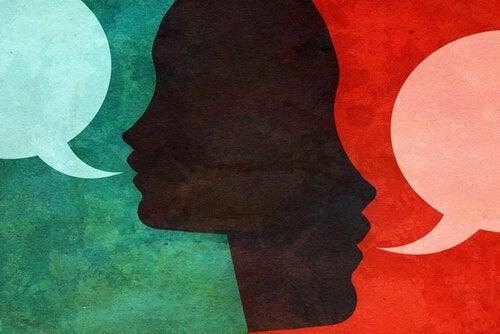 Kommunicerande personer