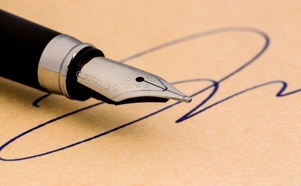 Vad din signatur säger om dig