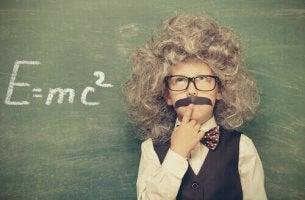 Pojke som Einstein