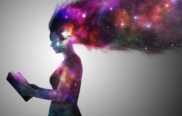 Vi känner verkligheten i bitar, vårt sinne hittar på resten