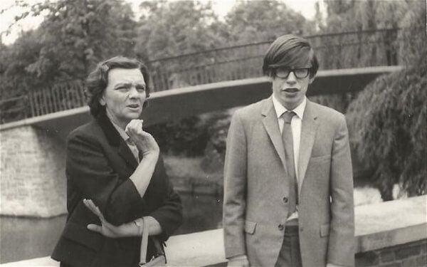 En ung Hawking