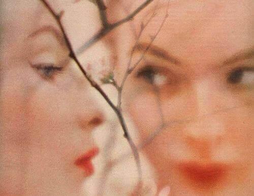 Kvinnas ansikte