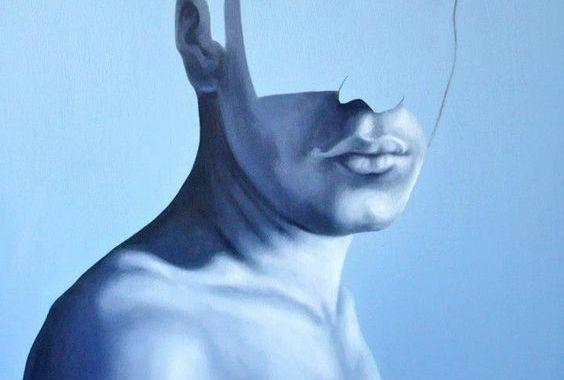 Man utan ansikte