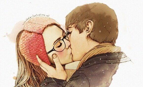 Par i kyss