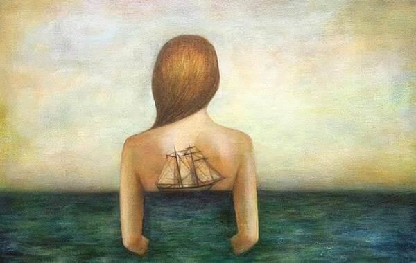 Skepp på kvinna