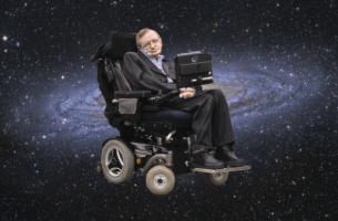 Stephen Hawking i rymden