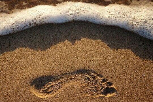 Avtryck i sanden