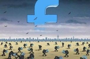 Besatta av sociala nätverk