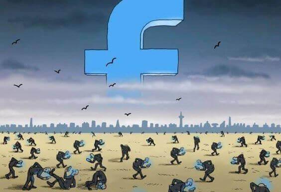 Jag gillar sociala nätverk, inte falska virtuella liv