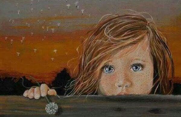 Depression hos barn: ett barns tårar är knivar i hjärtat