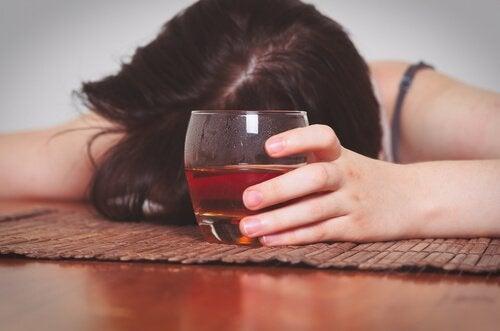 Kvinnlig alkoholist