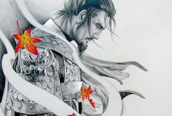 Samuraj och löv