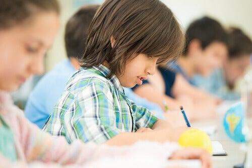 Studerande barn