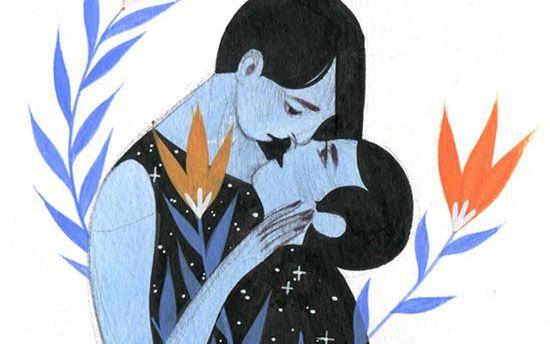Kärleksrelationer utvecklas när de bestämmer sig för att växa