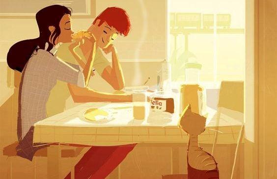 """Min partner """"hjälper mig"""" inte i hushållet: Vi samarbetar"""