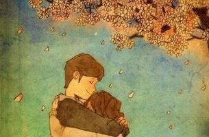 Att krama närstående