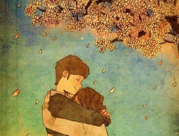 Den vackraste saken i världen är att krama personerna du älskar