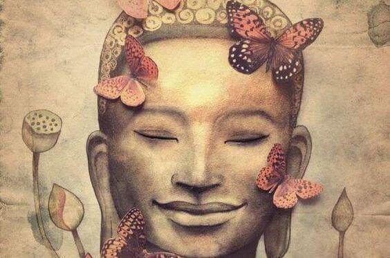 Leende Buddha
