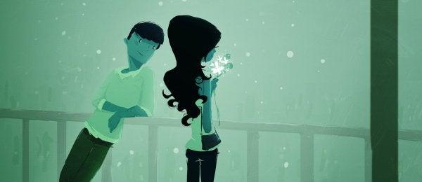 Att ge spelar bara roll om det görs med kärlek