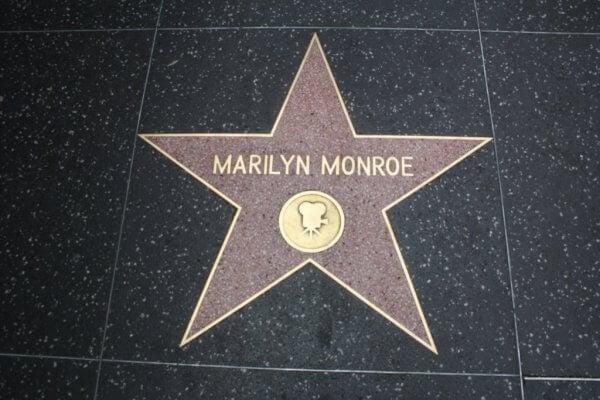 Marilyn Monroes stjärna