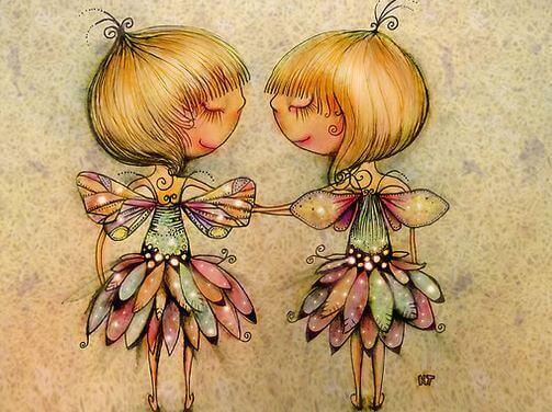 Tvillingar med vingar