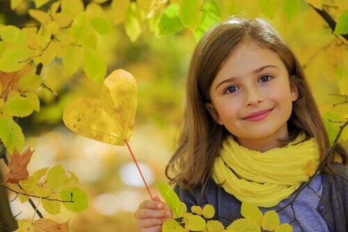 Ett vänligt barn är ett hälsosamt barn